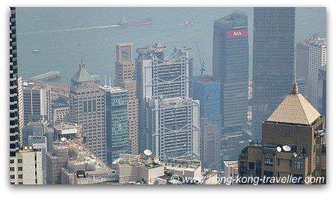 Hong Kong Victoria Peak Views from Sky Terrace