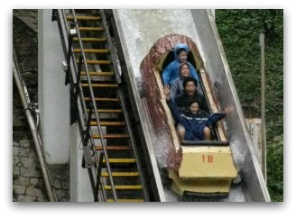 Water ride at Ocean Park