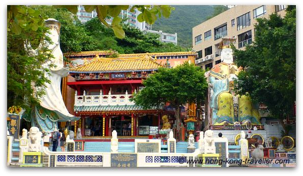Repulse Bay: Kwun Yam Shrine