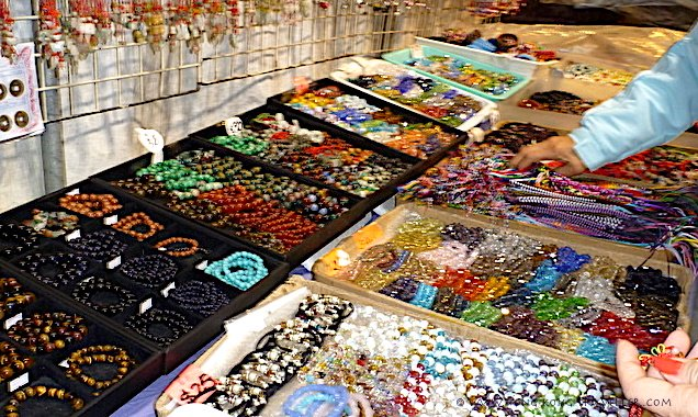 Ladies Market Hong Kong jewelry, trinkets