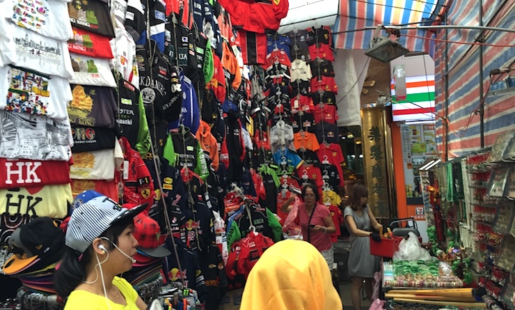 Ladies Market Hong Kong