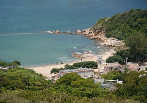 Views of the mountains and beaches from the Lamma Island Family Trail
