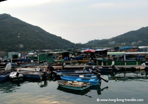 Sok Kwu Wan Fishing Village