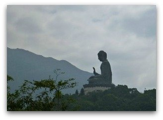 Lantau Island Buddha and Hills