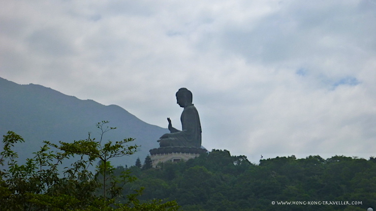 The Big Buddha in Lantau Island