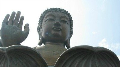Climb the 260 steps to the Buddha