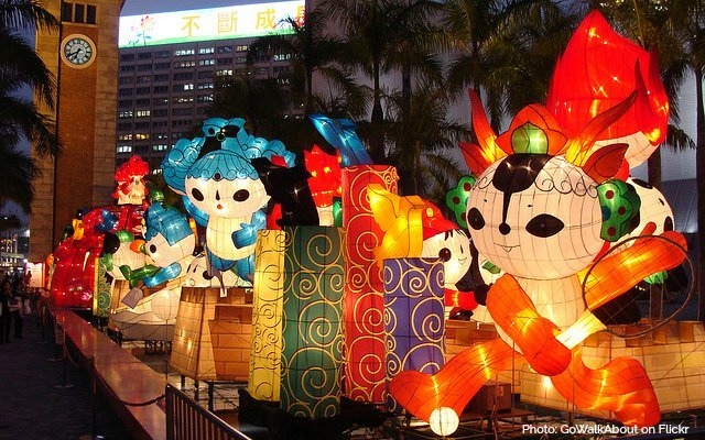 Lantern Displays in Tsim Sha Tsui