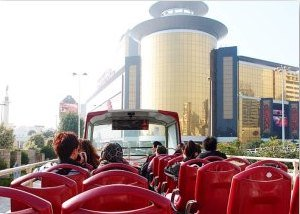 Macau Attractions: The Hop On Hop Off bus