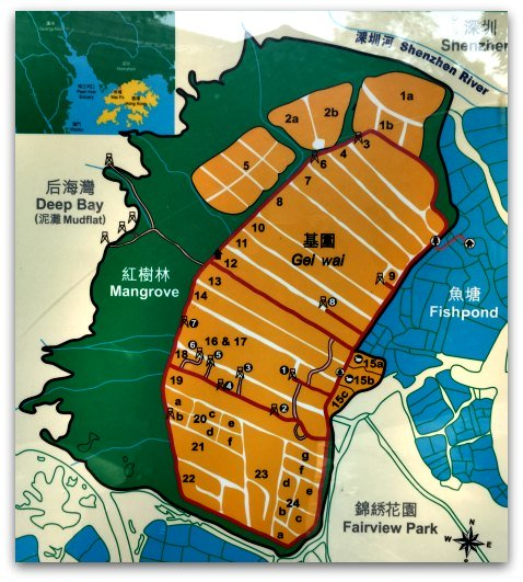 Mai Po Nature Reserve Map