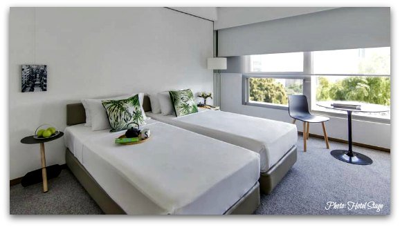 Mid-Range hotels in Hong Kong and Affordable Luxury: The Stage