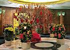 Chinese New Year Decorations Hotel Lobby in HK