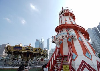 Carnival rides come to AIA Vitality Park Summerfest