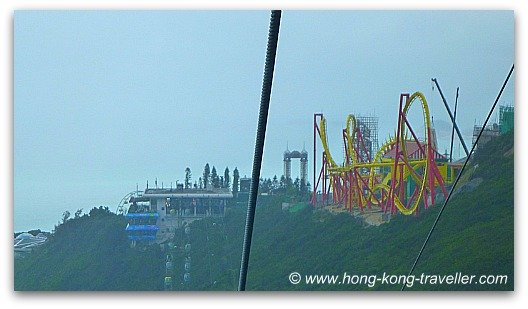 Ocean Park Cable Car at the Summit