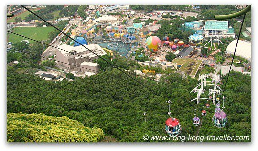 Ocean Park Cable Car at the Waterfront