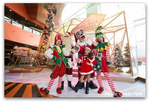 Christmas at Ocean Park Hong Kong