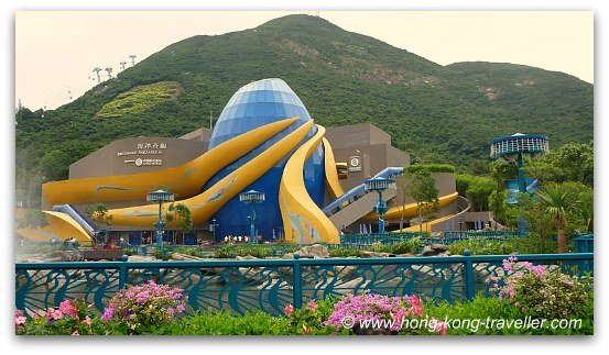 Ocean Park Grand Aquarium Complex