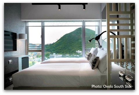 Ovolo South Side views of Ocean Park