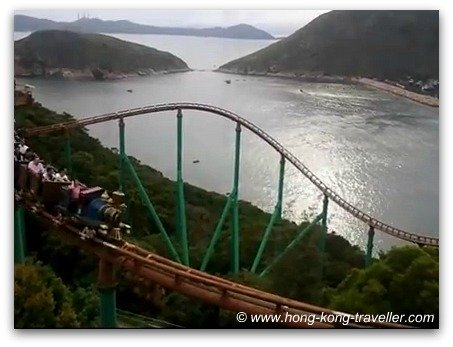 Ocean Park Roller Coaster: The Mine Train