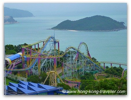 Ocean Park Roller Coaster: The Dragon
