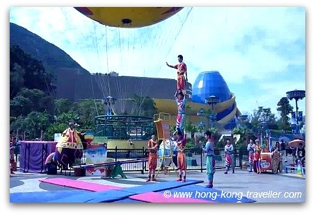 Ocean Park SkyFair Celebration