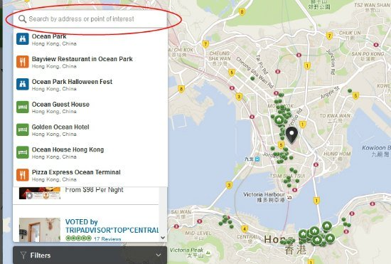 How to look for a vacation rental near Ocean Park