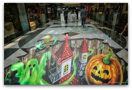 October Pumpkins and Goblins in Hong Kong