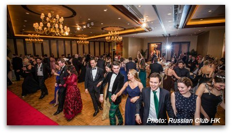 Russian Ball Hong Kong