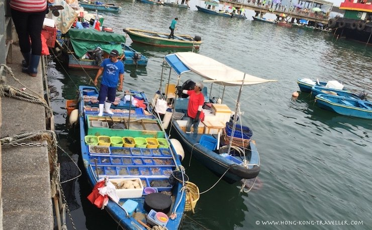 The Colorful Sai Kung Seafood Floating Market