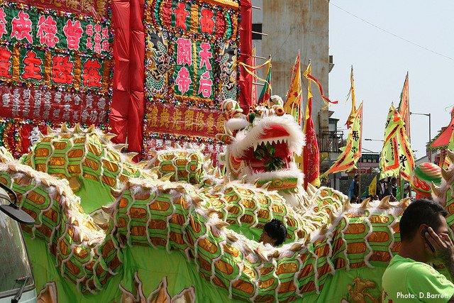 Tin Hau Festival in Joss House Bay Saikung