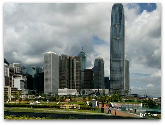 Central Waterfront Promenade Skyline views IFC