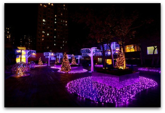 New Town Plaza Christmas Starlight Garden Milky Way in Town