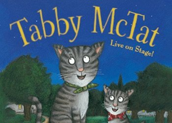 Tabby McTat on Stage