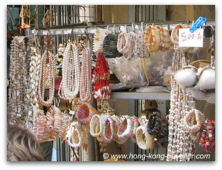 Temple Street Night Market Chinese souvenirs and trinkets