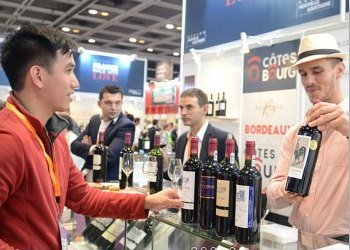 Wine and Spirits Fair at the HK Convention Center