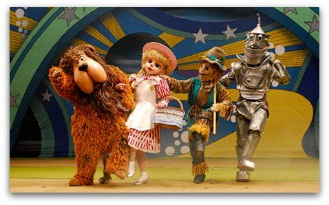 Wizard of Oz on Stage in Hong Kong
